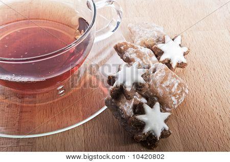 Tea at christmas