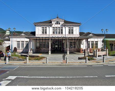 JR Nikko train station in Nikko, Japan.