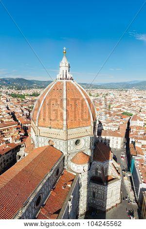 cathedral church Santa Mariea del Fiore, Florence, Italy