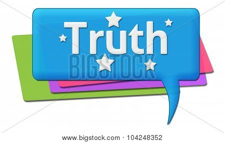 Truth Colorful Comments Symbols