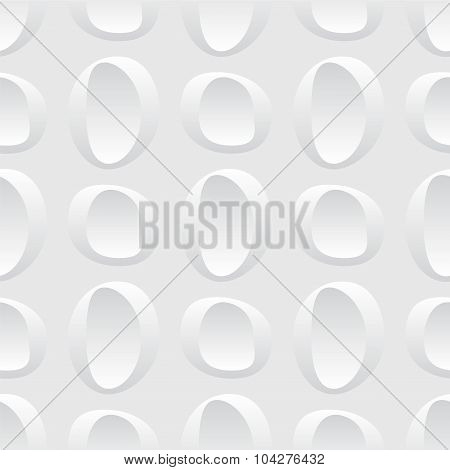 Seamless Abstract Shape Background. Vector