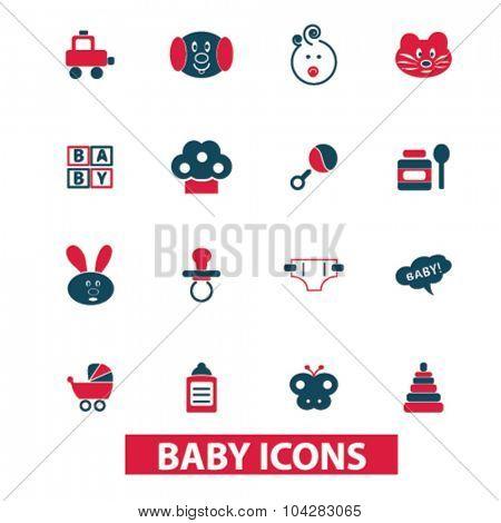 baby, children icons