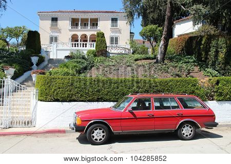 Mercedes-benz In Hollywood