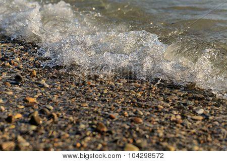 Tidal Bore. Sea Surf . Vacation At Sea.