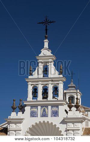 The Church Nuestra Senora Del Rocio In Rocio, Huelva, Andalucia, Spain