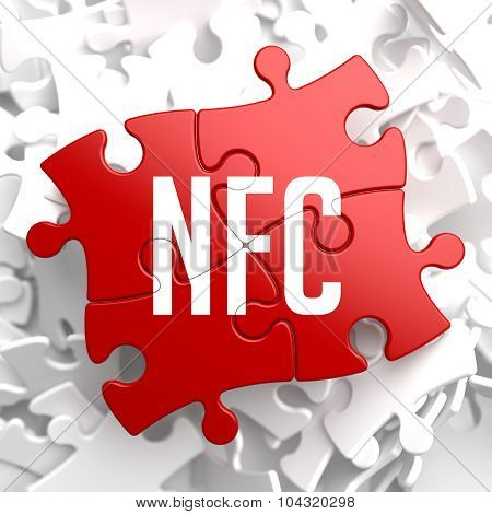 NFC on Red Puzzle.