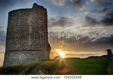 Hadleigh Castle: An Old Medival Derelict Castle