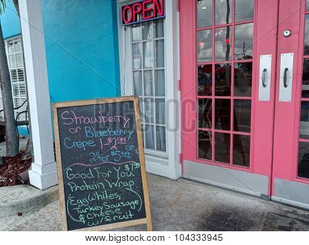 Quaint Tropical Diner