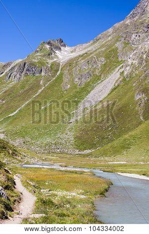 Riffl River In Austria