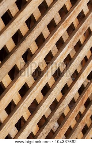 Design Of Wood Wall Panel Plank Cross Background