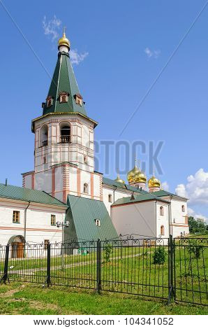 The Bell Tower Of The Valdai Iver Monastery In Valdai