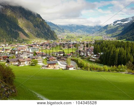 The holiday village Mayrhofen in the Zillertal