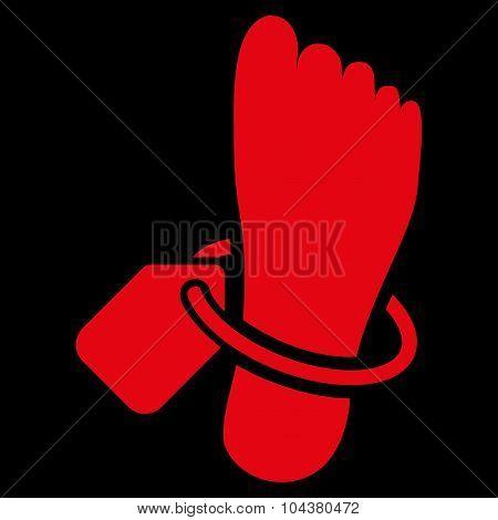 Mortuary Tag Icon