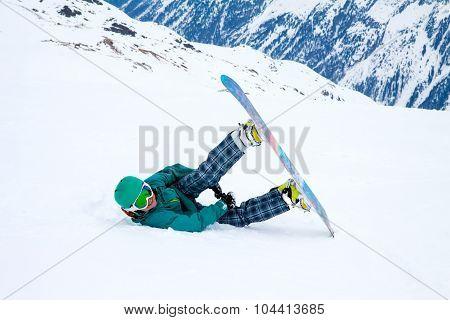 snowboarder, Solden, Austria, extreme winter sport