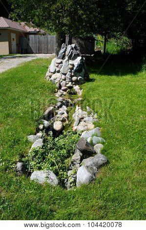 Flowing Artesian Spring
