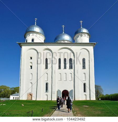 St. Georges Cathedral in Veliky Novgorod Russia