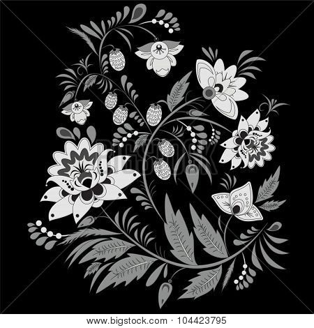Russian Ornament. Traditional Slavs Pattern. Vector Illustration