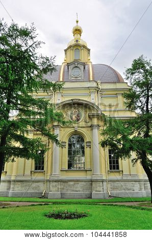 Grand Ducal Burial Vault Imperial House Of Romanov In The Peter And Paul Cathedral