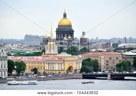 Panorama Of Saint Petersburg - Bird's-eye View