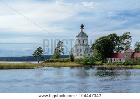 Church Of Exaltation Of The Cross At Lake Seliger