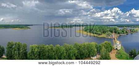 Lake Seliger From A Height
