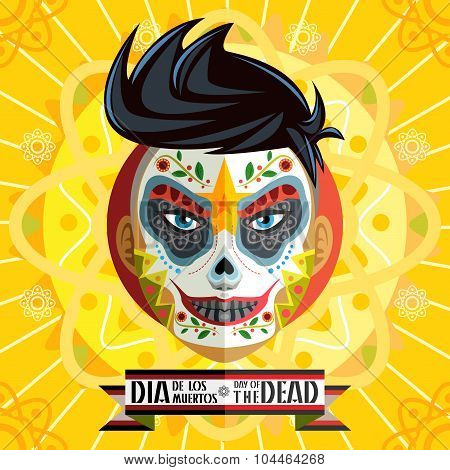 Dia De Los Muertos Day Of The Dead Skull Face Painting