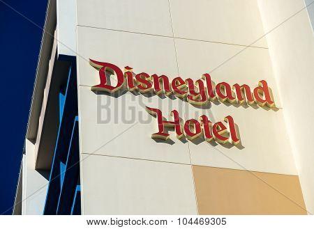 Disneyland Hotel Exterior