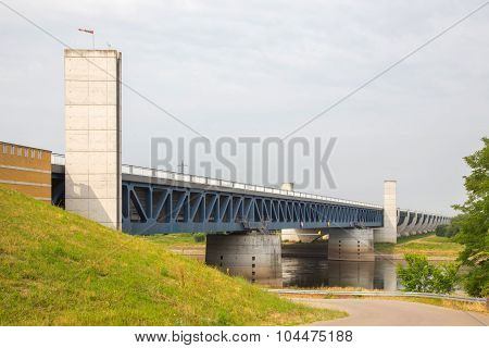 Elbe-havel Canal Magdeburg