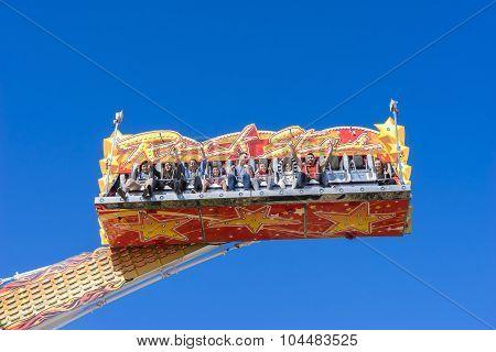 Rockstar Amusement Ride In Royal Melbourne Show