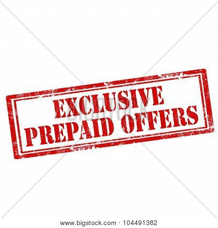 Exclusive Prepaid Offers