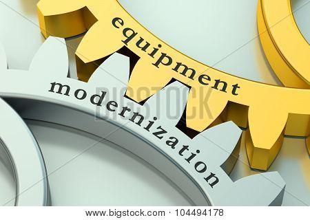 Equipment Modernization Concept On The Gearwheels