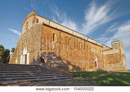 The Abbey Of San Giovanni In Venere In Fossacesia, Abruzzo, Italy