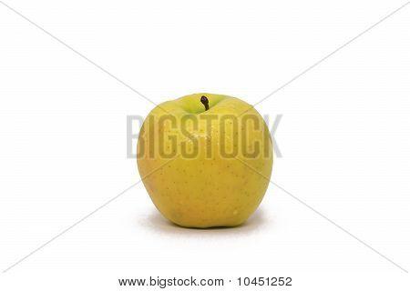 Single Yellow Apple