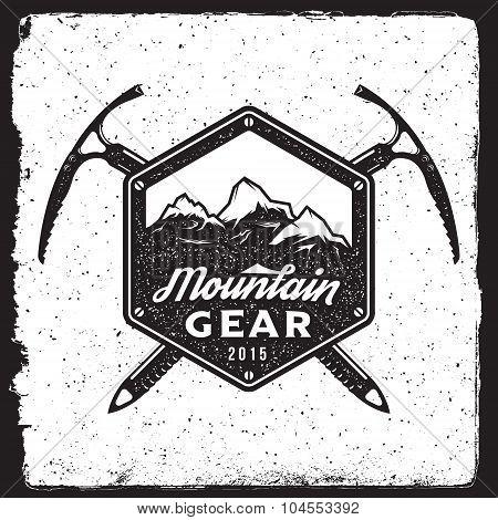 Mountain Gear Vintage Emblem