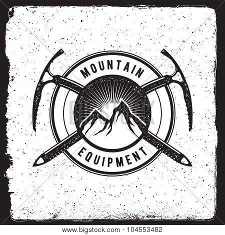 Mountain Equipment Vintage Emblem