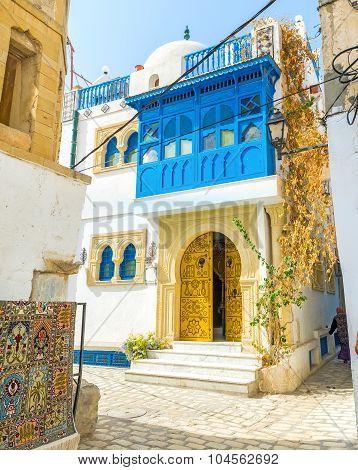 The Blue Balcony