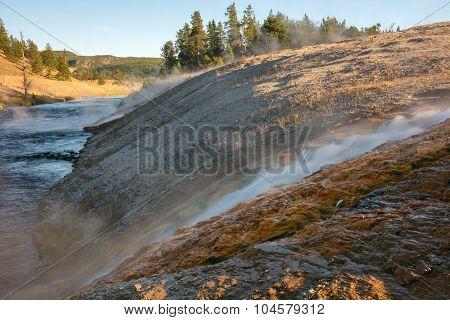 Run Off Waterfall