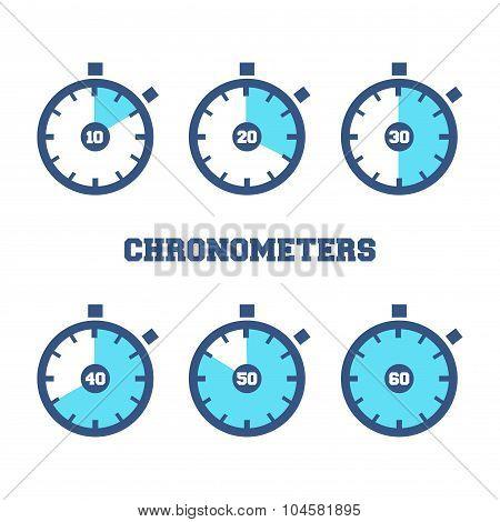 Sports Chronometers Time Laps