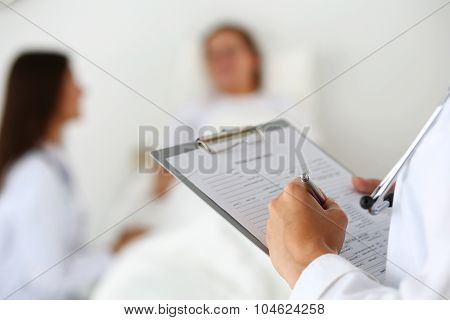 Physician Ready To Examine And Help