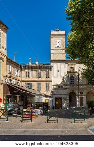 In The Streets Of Saint-remy-de-provence