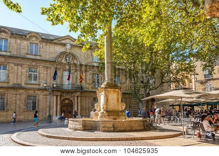 Town Hall Of Aix-en-provence