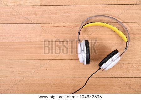 Headphones On The Floor