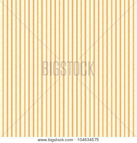 Vintage paper background with orange screen dotted stripes and cream colored paper stripes