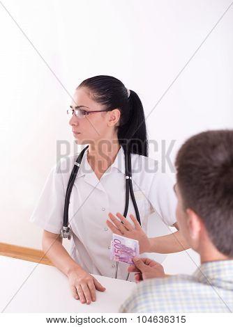 Doctor Refusing Bribing