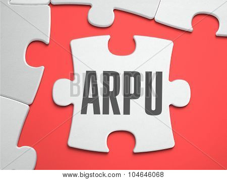 ARPU - Puzzle on the Place of Missing Pieces.