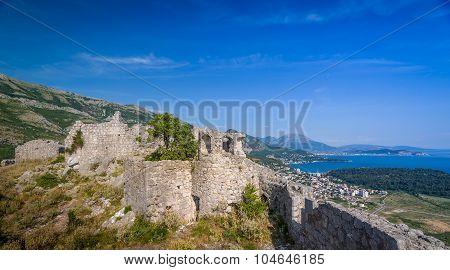 Sutomore view from Haj-Nehaj fortress