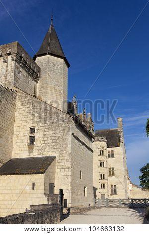 Castle of Montsoreau Maine-et-Loire Pays de la Loire France poster