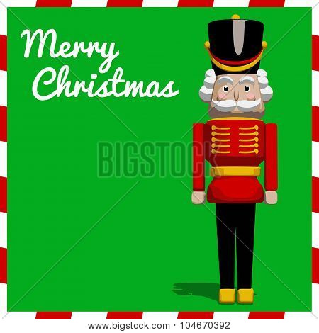 Nutcracker Christmas Soldier Toy