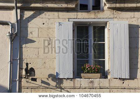 Architecture Of Montsoreau, Maine-et-loire, Pays De La Loire, France