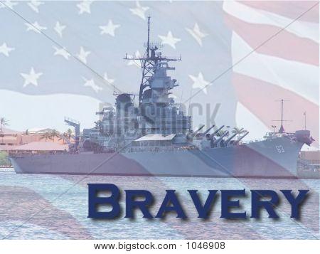 The American Spirit Of Bravery